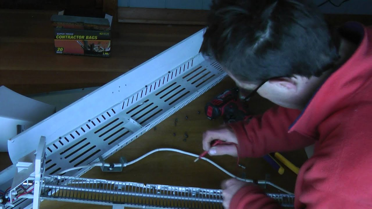 Lasko 5620 Electric Heater Repair Thermofuse Replacement Youtube