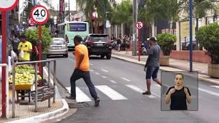 Jornal Acontece - Infração de Trânsito de Pedestres e Ciclistas