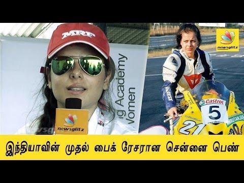 Chennai's Super-popular Biker Girl, Alisha Abdullah's Interview