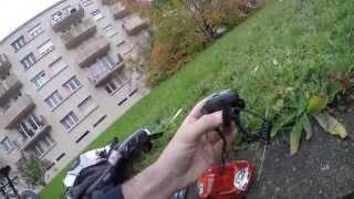 Test Feu stop et clignotants sans fils pour vélo - Q-Lite