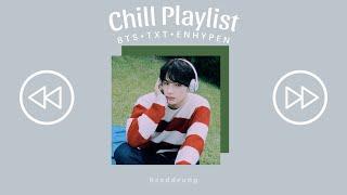 b t s • t x t • e n h y p e n ~ chill/study/relax playlist
