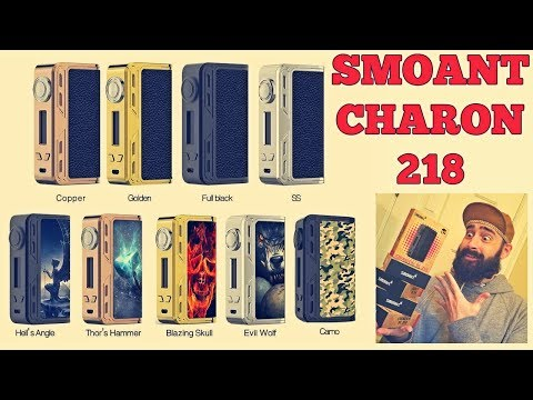 SMOANT Charon 218! Giving Away 5 Mods!