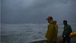 9/15/2014 Hurricane Odile Arrives At Baja California and Cabo San Lucas Mexico | Damage