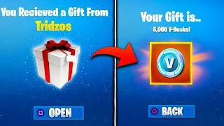 *NEW* GIFTING FEATURE LEAKED in Fortnite! - Fortnite Battle Royale Gifting Skins, V-Bucks, & More!
