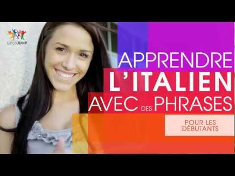 Apprendre l'italien pour débutants ! Les mots & phrases importants et la grammaire - rapidement !