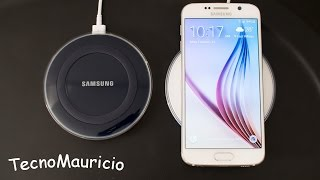 unboxing samsung wireless charging pad galaxy s6 s6 edge espaol