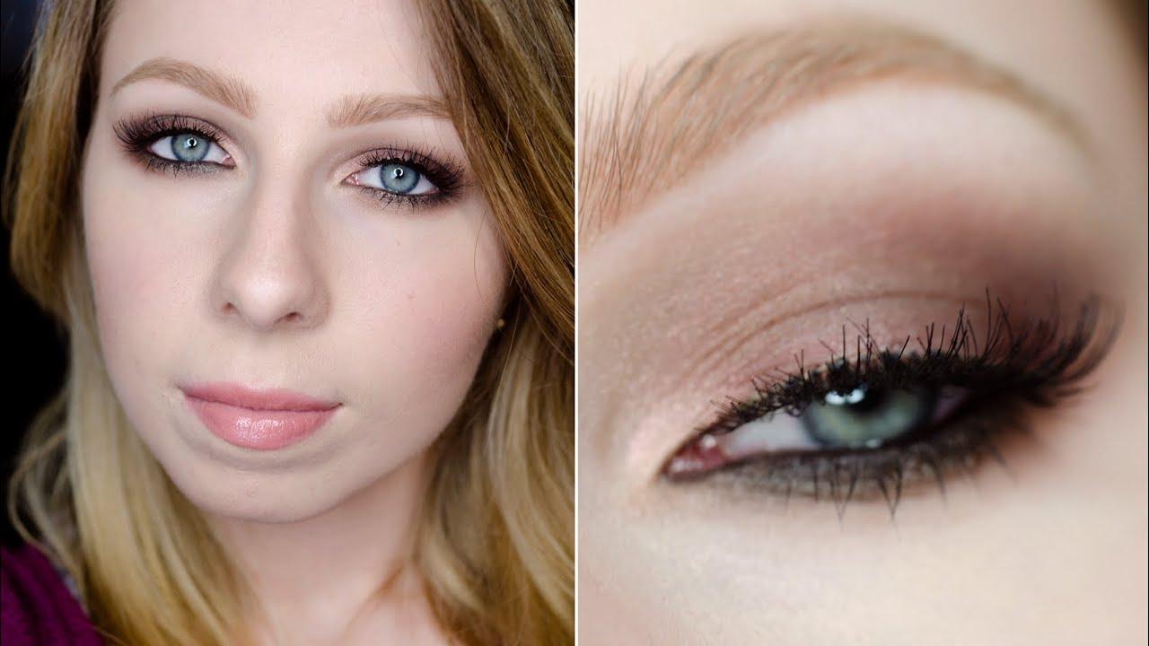 Makijaż W Stylu Cheryl Cole Brązowe Smoky Eye Makeup Tutorial