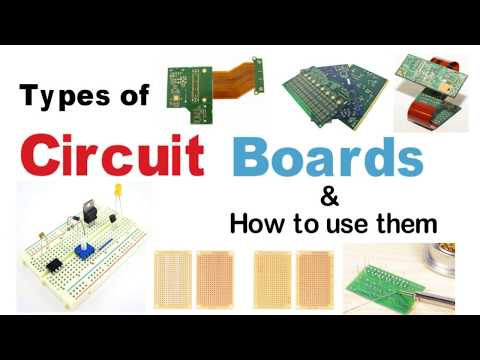 Circuit Board Types | How to use Circuit Boards | PCB Guide