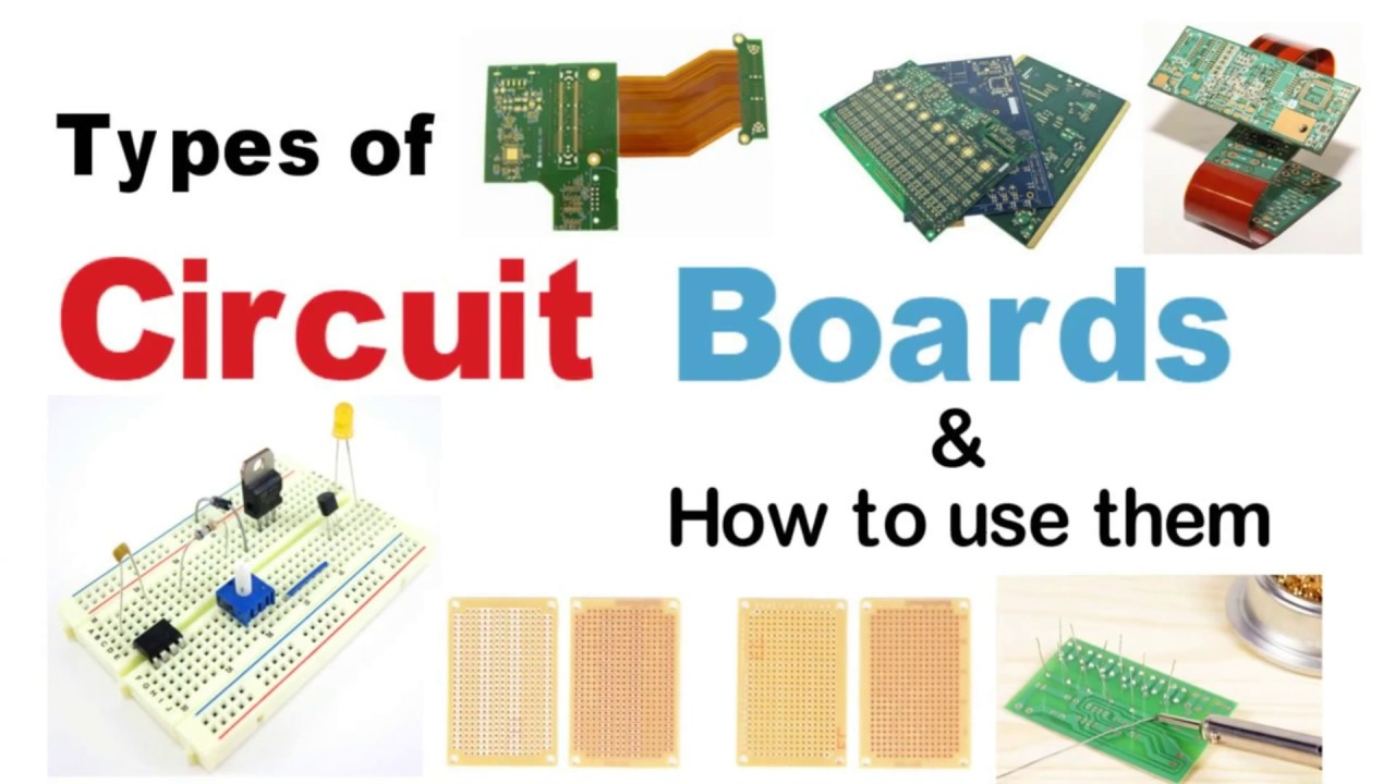 Circuit Board Types How To Use Boards Pcb Guide Electronics Breadboards