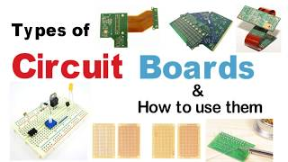 Circuit Board Types | How to use Circuit Boards | PCB Guide | Breadboards
