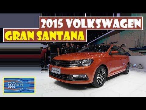 2015 Volkswagen Gran Santana, live photos at Auto Shanghai 2015