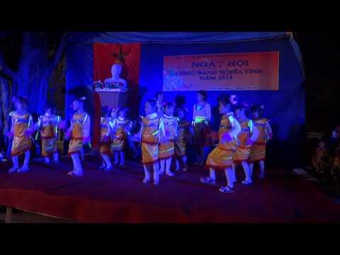 Múa Em chúc xuân - Trường Mầm non Kiến Quốc, Kiến Thụy, Hải Phòng.