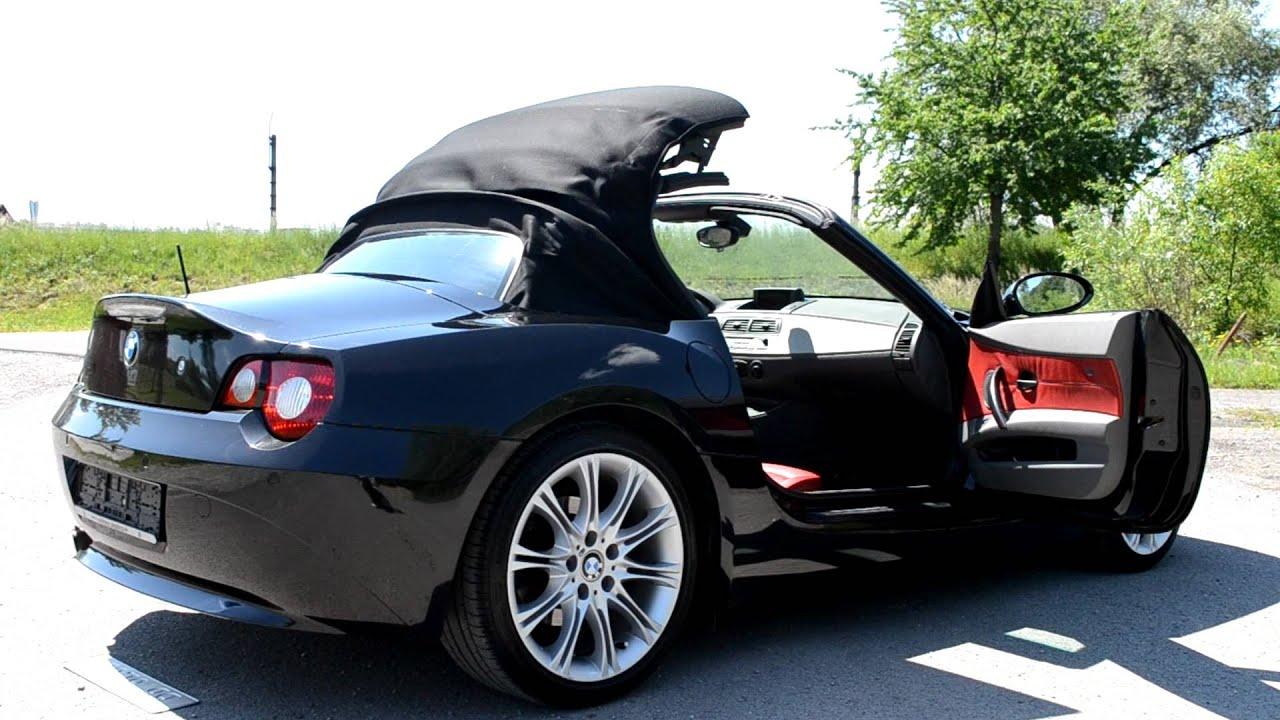 Bmw Z4 Roof Closing Youtube
