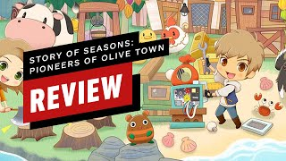 Story of Seasons: Pioneers of Olive Town Review (Video Game Video Review)