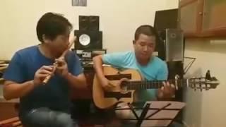 Người ơi, Người ở đừng về - Dân ca quan họ Bắc Ninh || Hoà Tấu Guitar Sáo Trúc