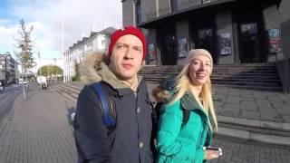 Исландия, день 2 - Рейкьявик, Hveragerdi Reykjadalur, озеро Kerid, Geyser, водопад Gullfoss