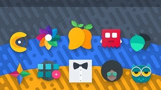 Top 10 Android Icon Packs 2017 - Material - Flat - Minimal - Shapeless