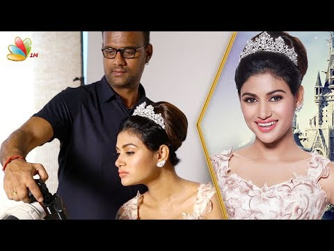Oviya In Beauty and the Beast | Once Upon A Time Photoshoot Making | Karthik Srinivasan