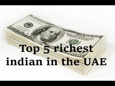 Meet the Top 5 richest Indian expatriates in the UAE
