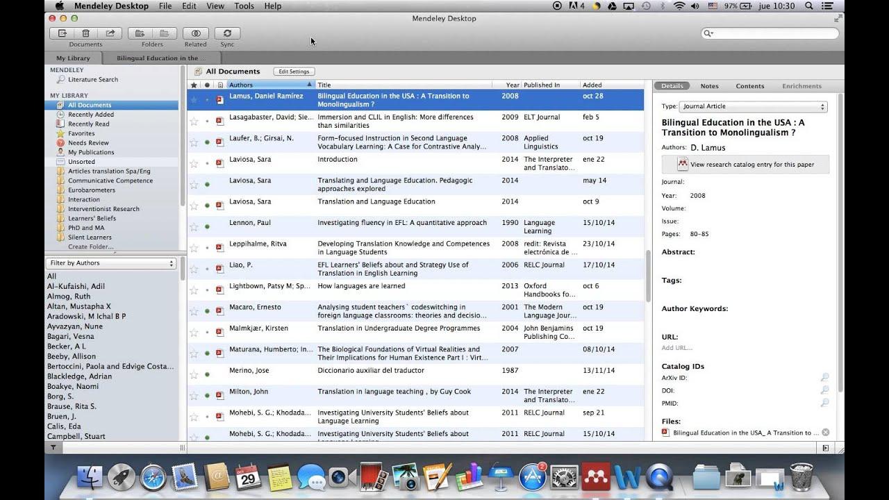 Mendeley app for mac laptop