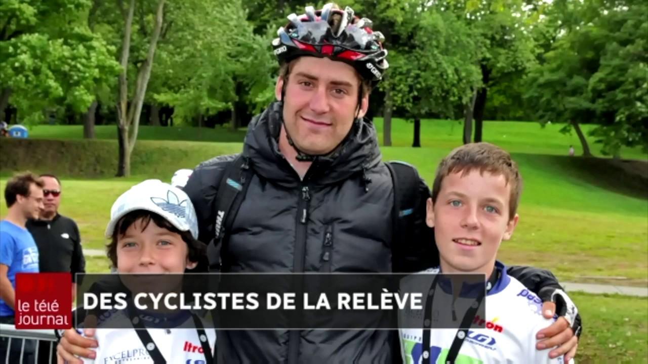 Rêver au Tour de France grâce à Hugo Houle | Des cyclistes de la relève