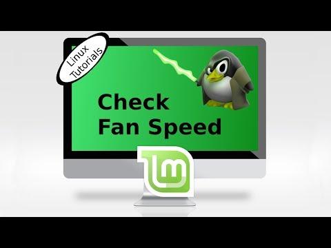 Check Fan speed in Linux Mint & Ubuntu - YouTube