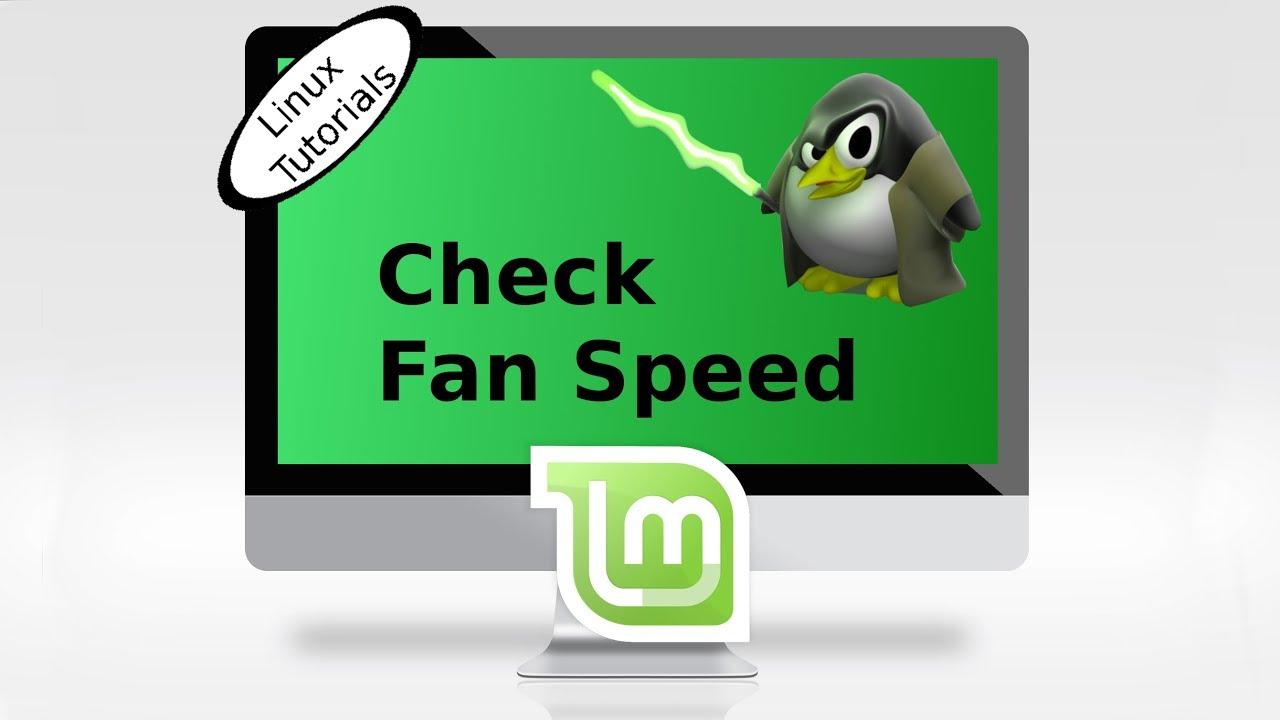 Check Fan speed in Linux Mint & Ubuntu