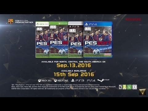 Recibiendo el Pes 2017 - el trailer en vivo y reaccion - unico medio en vivo - Lator