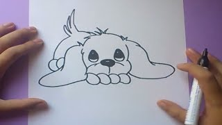 Como dibujar un perro paso a paso 3 | How to draw a dog 3