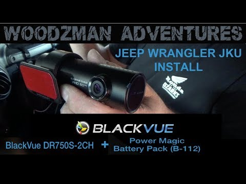 Blackvue DR750S 2CH Dashcam & Power Magic Battery pack insta