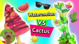 Pomysły na lato | Kaktus i arbuz | przekąska i dekoracja
