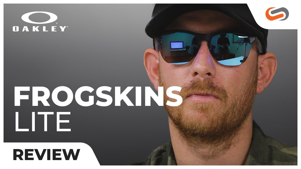 9f2d6f096 Oakley Frogskins Lite Review | SportRx.com - YouTube