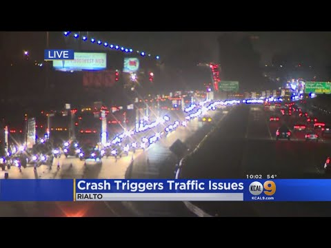 Deadly Accident On 10 Freeway Creates Traffic Nightmare