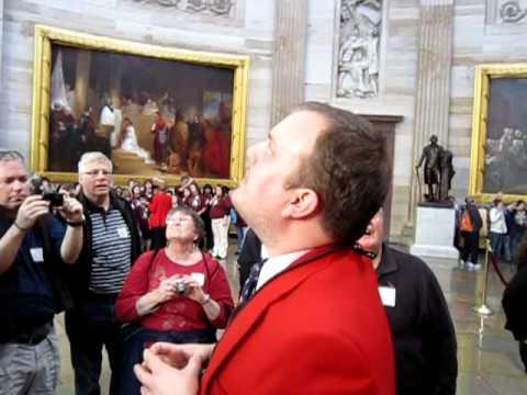 The U.S. Capitol rotunda tour