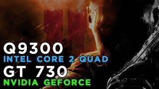 call of duty black ops 2 2012 gameplay geforce gt730 intel core 2 quad q9300 4gb ram
