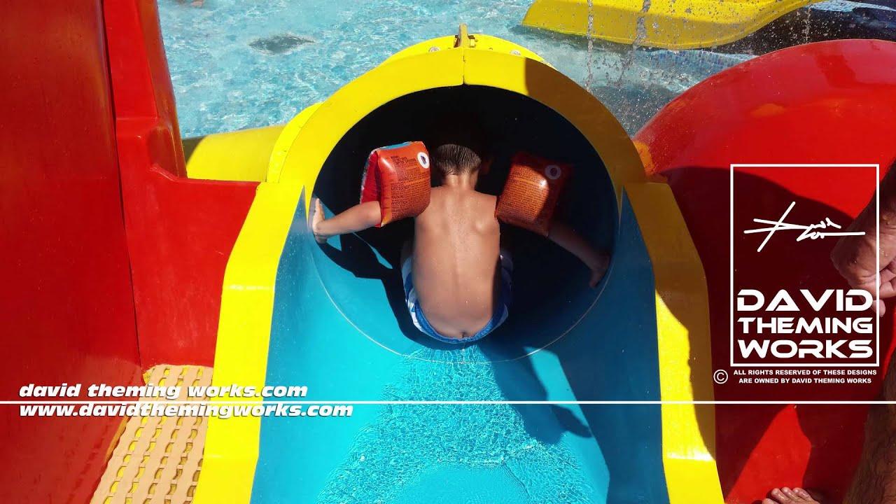 Fabricante de toboganes fabricante de juegos para for Tobogan piscina ninos