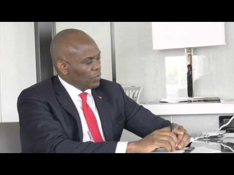 Dr. Benjamin Chavis Jr. interviews  African Business leader Tony Elumelu
