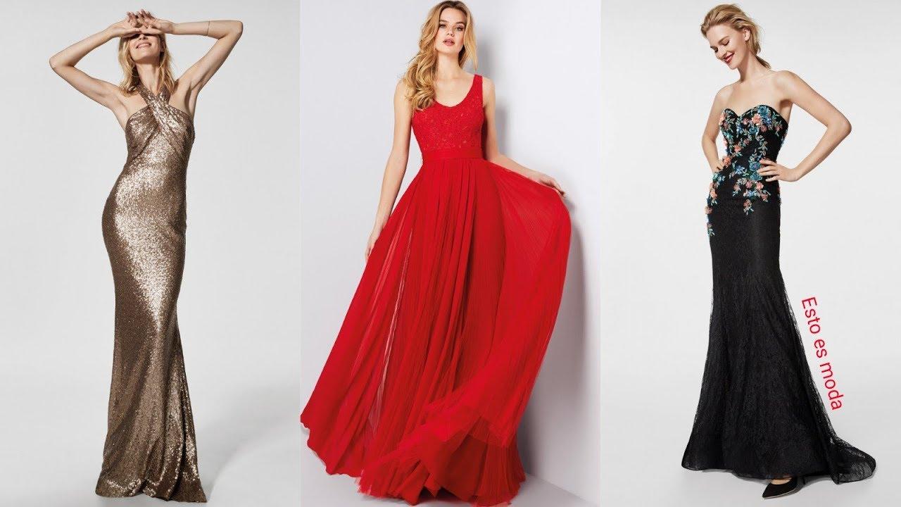 Vestidos largos colores de moda