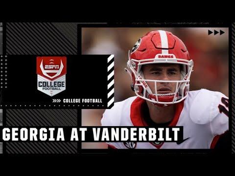 Georgia vs. Vanderbilt - Game Recap - September 25, 2021 - ESPN