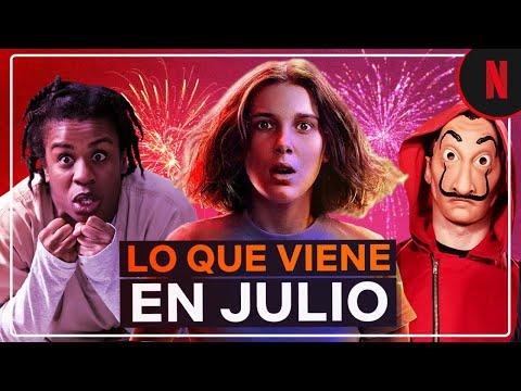 Estos son los estrenos de julio | Netflix