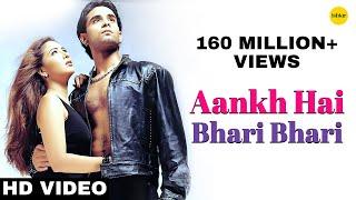 Download Aankh Hai Bhari Bhari (Male) - 4K Video | Best Bollywood Sad Songs | Tum Se Achcha Kaun Hai Mp3 and Videos