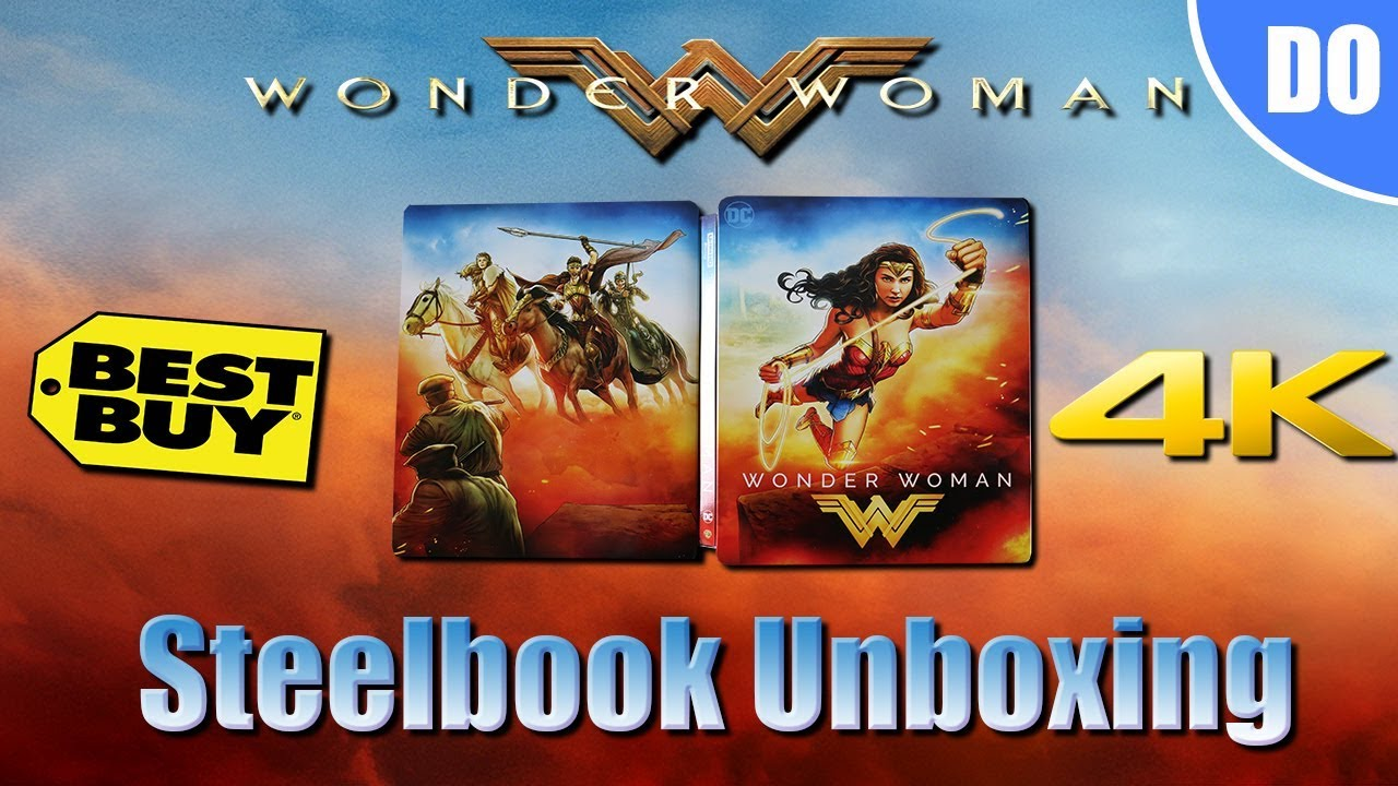 Wonder Woman 4k Steelbook Best Buy Exclusive Unboxing