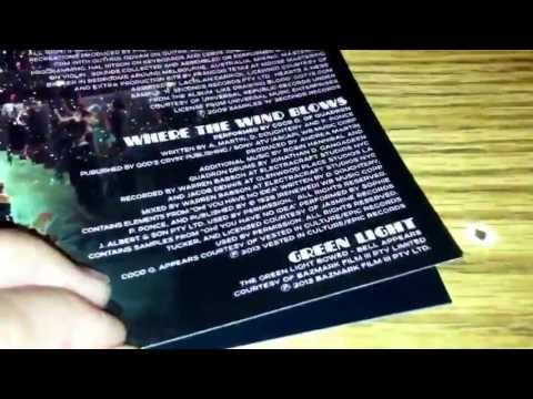 The Great Gatsby Soundtrack Deluxe Edition Unboxing