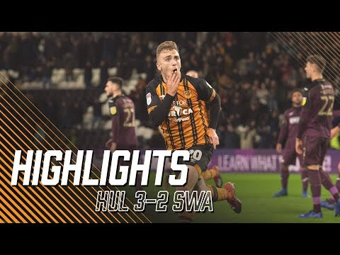 Hull City 3-2 Swansea City | Highlights | Sky Bet Championship
