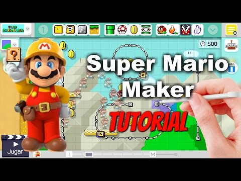 Tutorial Tecnicas avanzadas en Mario maker Español Wiiu y PC Parte 1