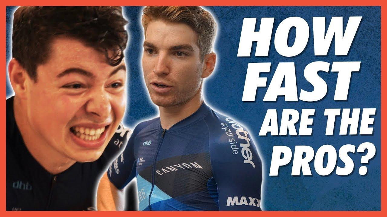 How Fast Are Pro Cyclists? Average Joe Vs Pro