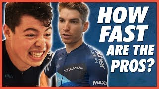 How FAST Are Pro Cyclists? Average Joe Vs Pro