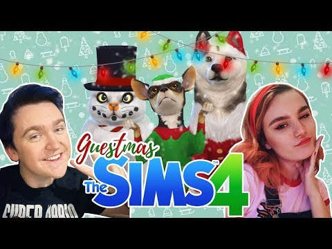 WHAT IS THAT?! - Sims 4 Christmas Create A Pet - W/Steph0sims