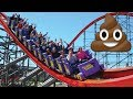 Man Has Diarrhea While On Roller Coaster And Splashes 14 People