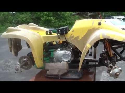 Free China ATV, will it run and shift into forward and reverse?